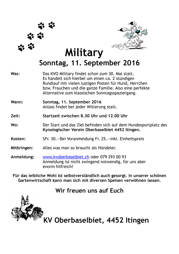 Flyer-Military